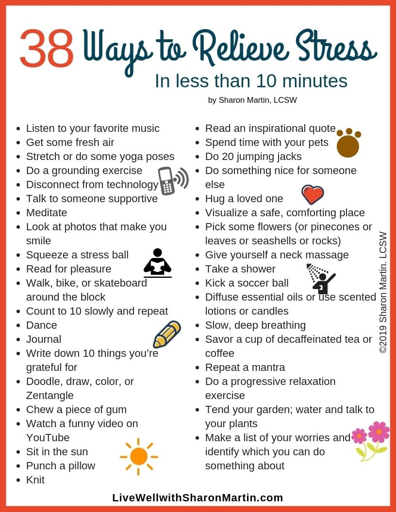 how to get stress relief quickly