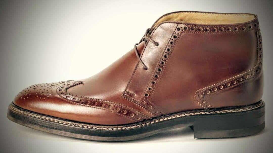 Personalisierte rahmengenähte Schuhe | Sven Janneck