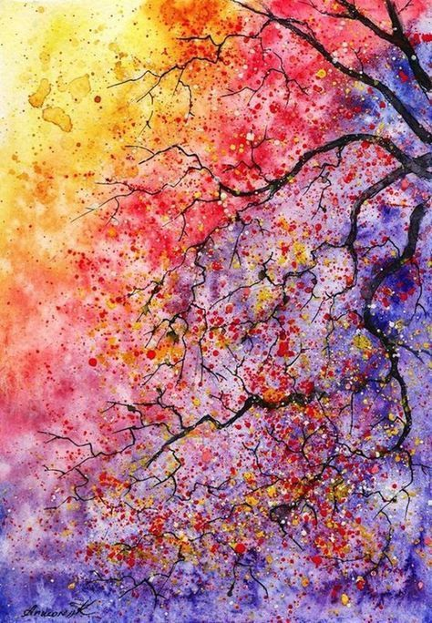 40 simple watercolor painting ideas watercolorarts art ideas