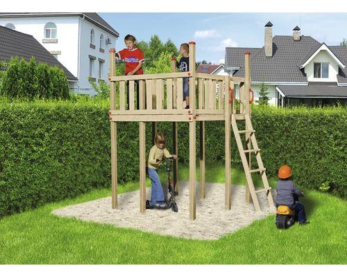 Klettergerüst Pflanzen Holz : Spielturm weka holz natur kletterturm pinterest