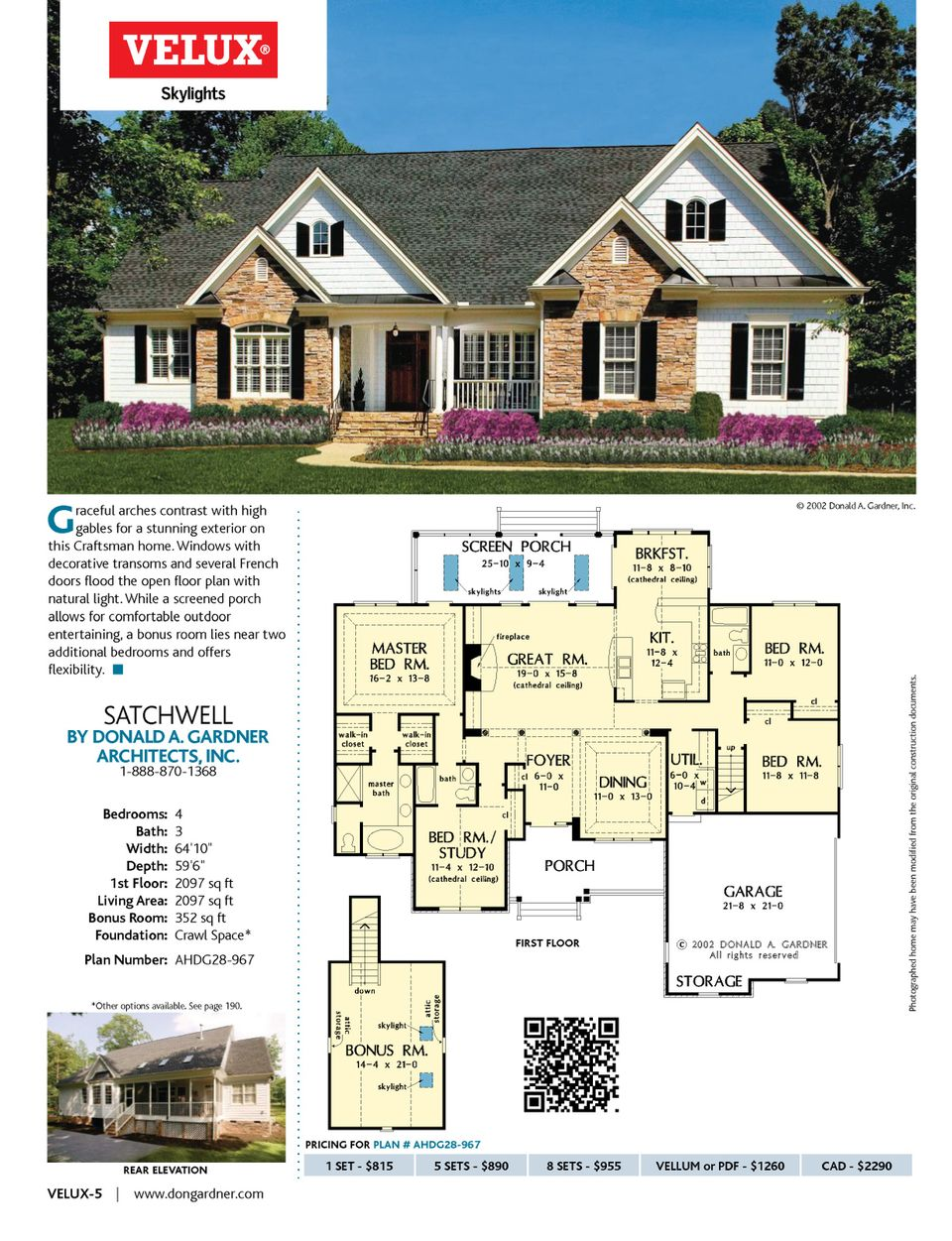 Designer Dream Homes Best Home Plans Of Donald A Gardner Page 68 House Plans Best Home Plans New House Plans