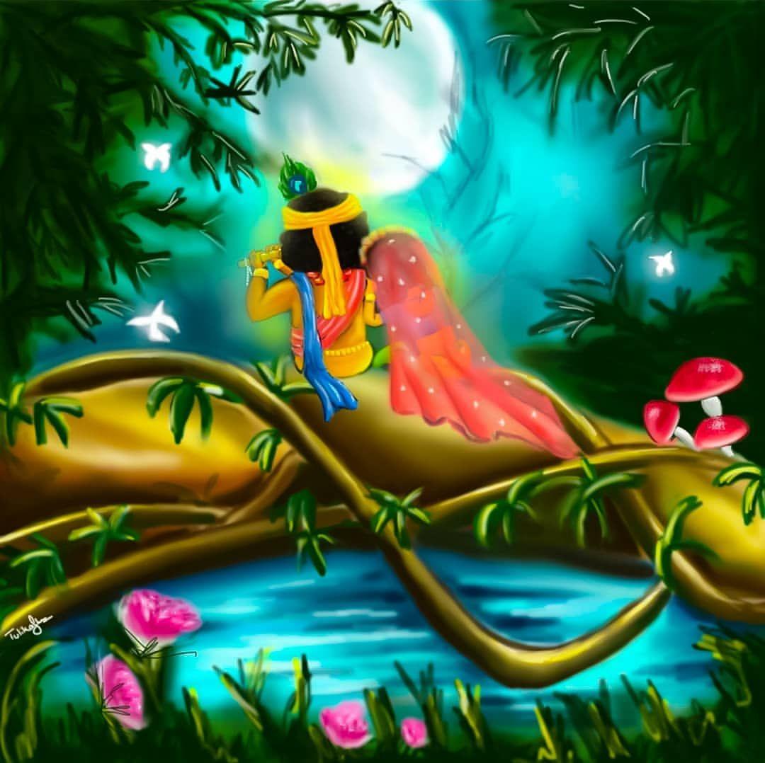 No Photo Description Available Krishna Radha Painting Radha Krishna Art Krishna Pictures