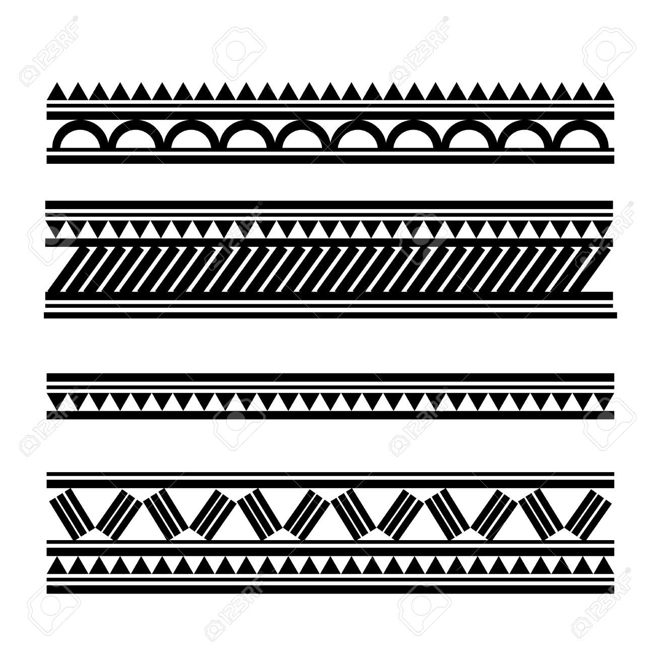 13361811 maori polynesian style tattoo bracelet stock. Black Bedroom Furniture Sets. Home Design Ideas