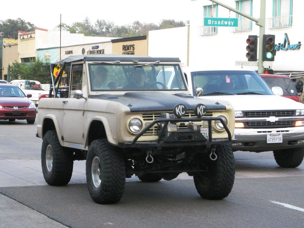 Ford Bronco SUV Sports Utility Vehicle