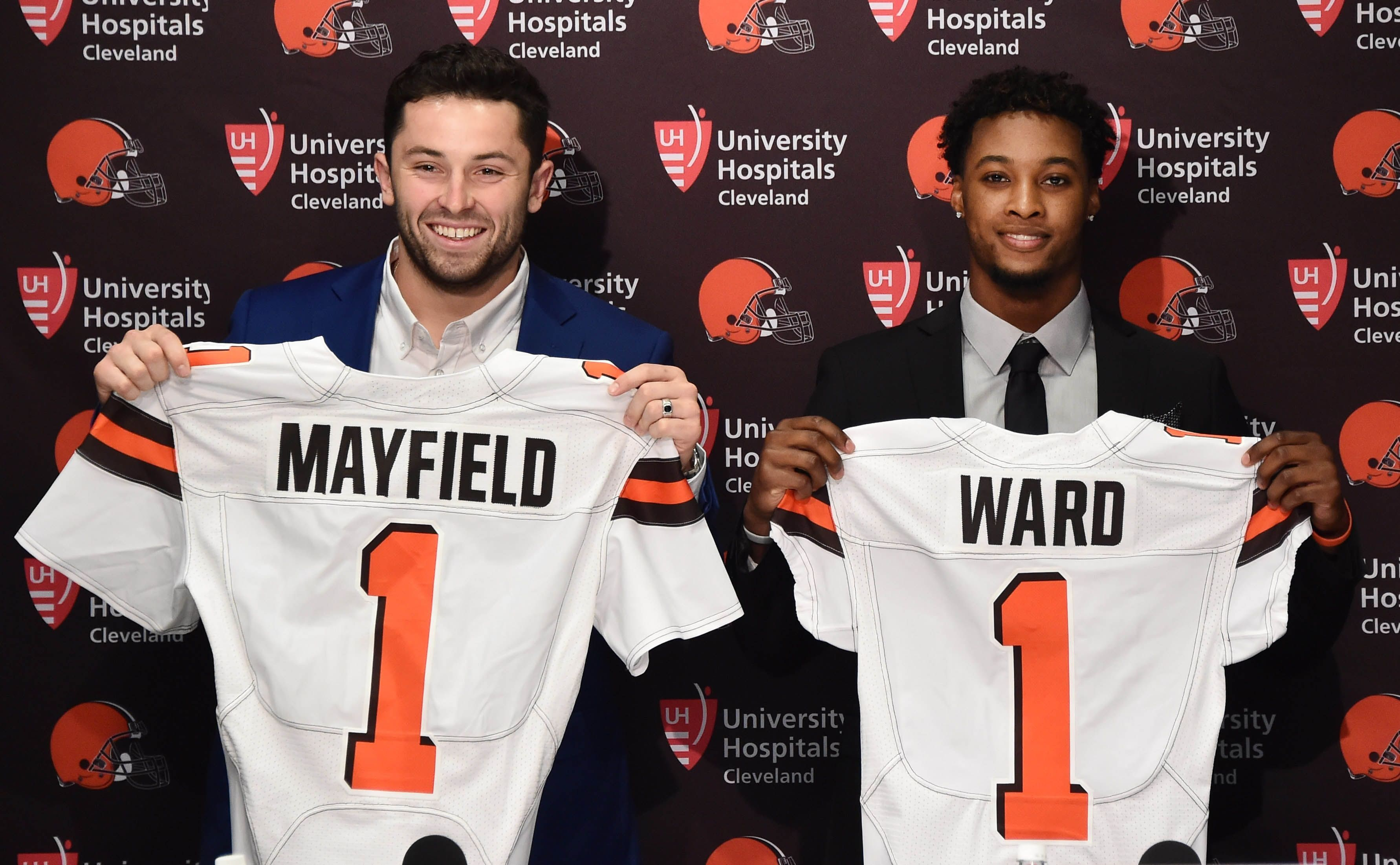 Starting with Browns' Baker Mayfield most intriguing story