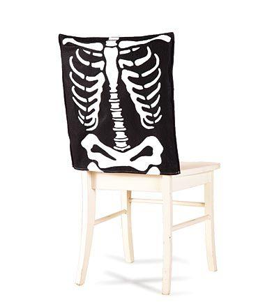 Skeleton Chair Cover Holidays- Halloween Pinterest Chair - halloween decoration printouts