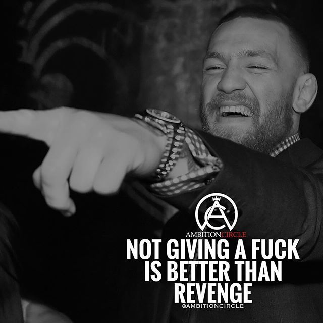 The Best Revenge Right Here Success Quotes Rich Wealth Prosperity Cash To Achieve Passion Dr Conor Mcgregor Quotes Strong Quotes Inspirational Quotes