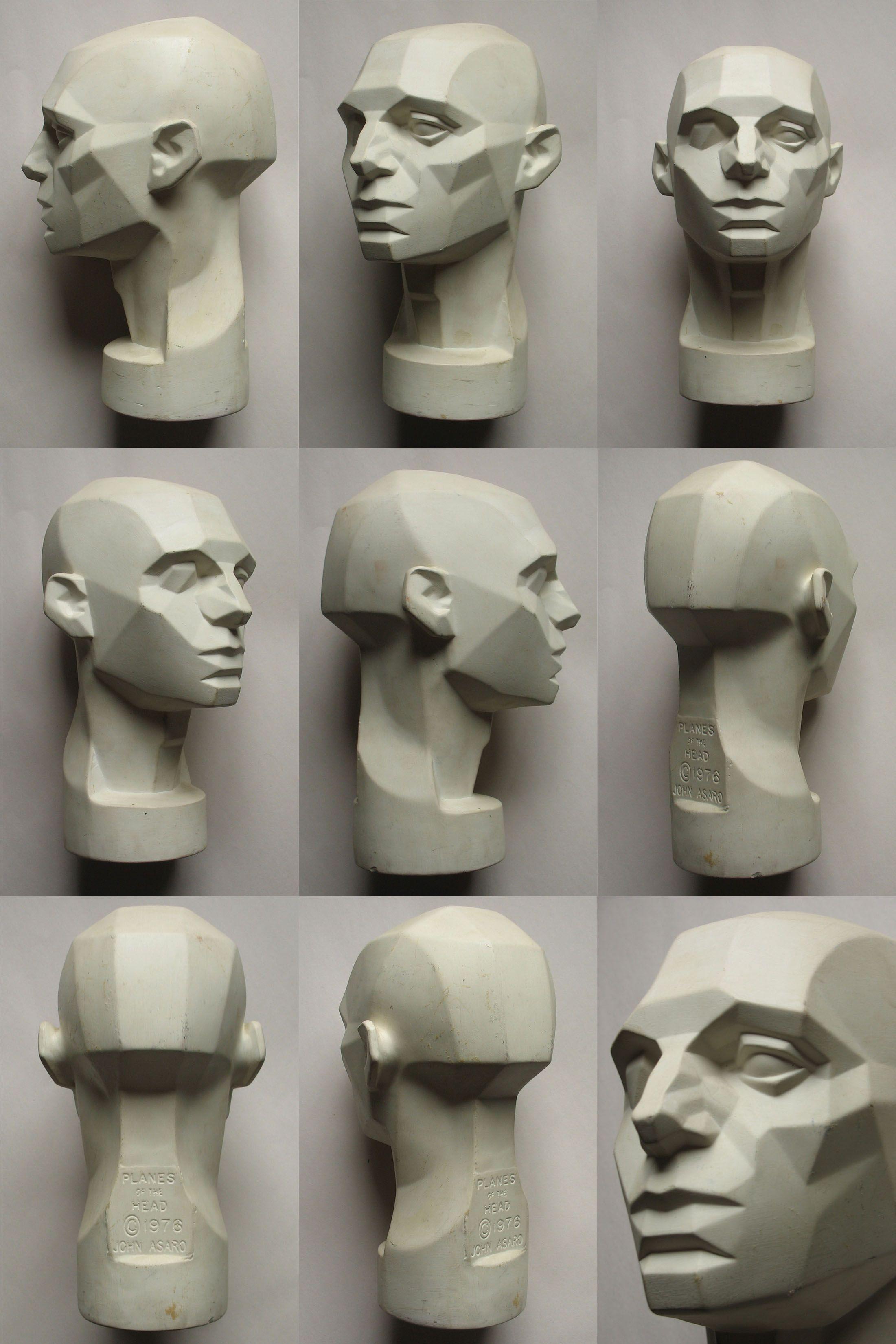 planes of the head via http://animationtidbits.tumblr.com ...