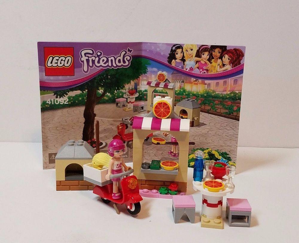 Lego Friends 41092 Stephanies Pizzeria Pizza Shop Minifig Mini