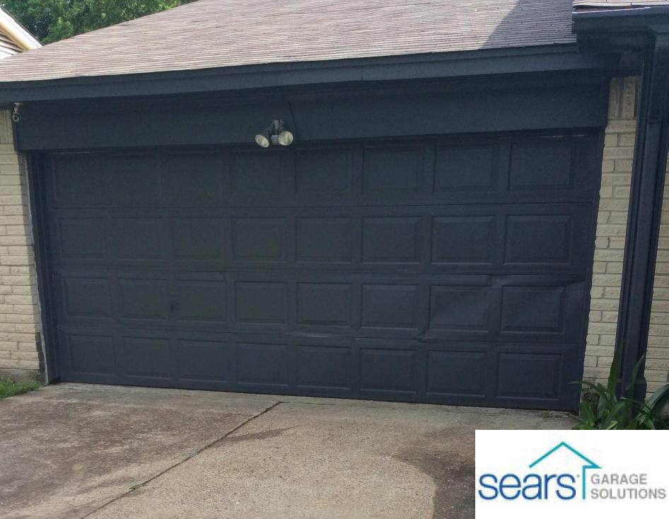 16x7 Garage Door Replacement Garage Doors Garage Door Design Door Repair