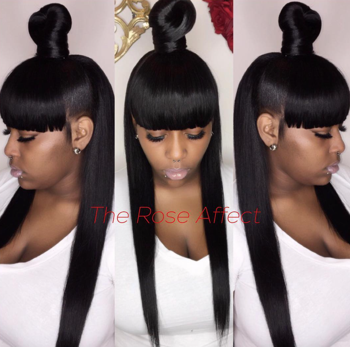 pin by deedra cooper on styles in 2019 | ponytail hairstyles