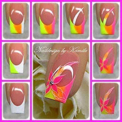 Beautiful nails to create on your own!