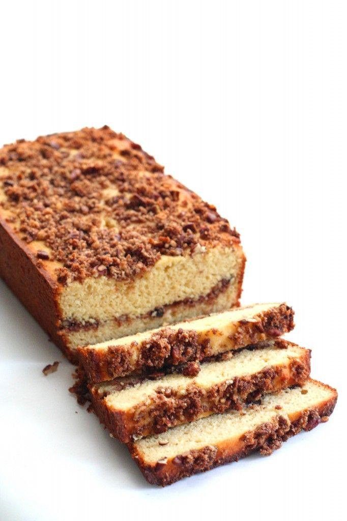 Sour Cream Coffee Cake Swerve Sweetener Sour Cream Coffee Cake Low Carb Cake Coffee Cake