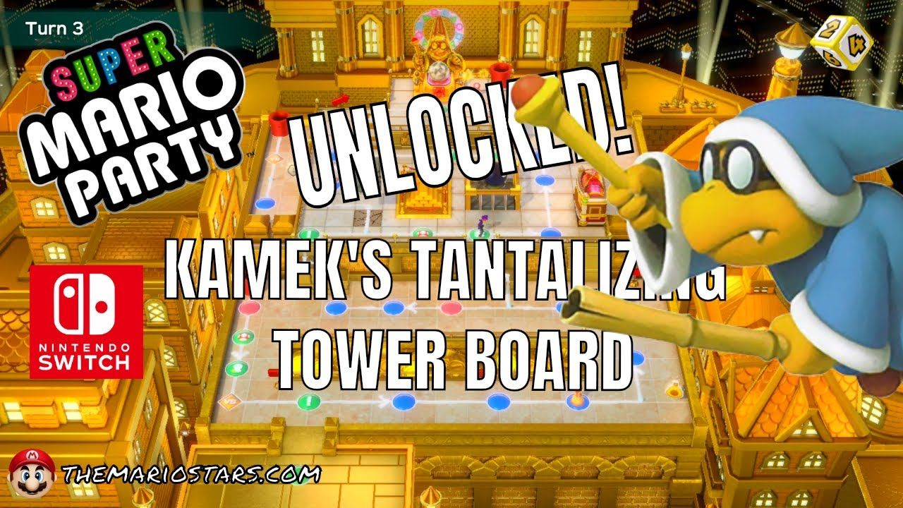 Super Mario Party Gameplay Walkthrough Nintendo Switch