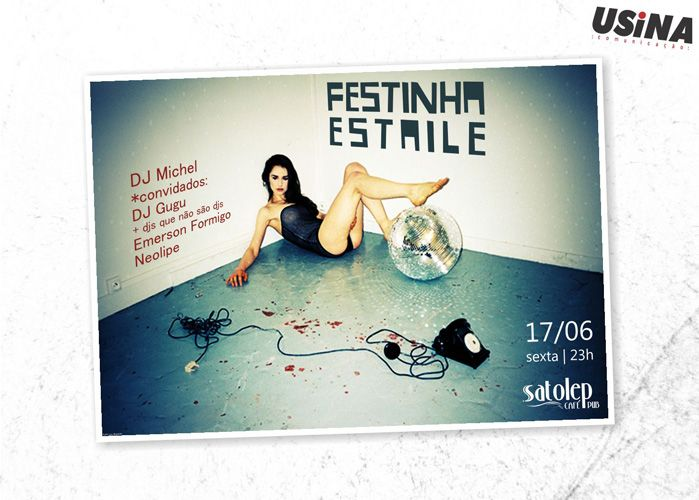Festinha Estaile (cartaz)