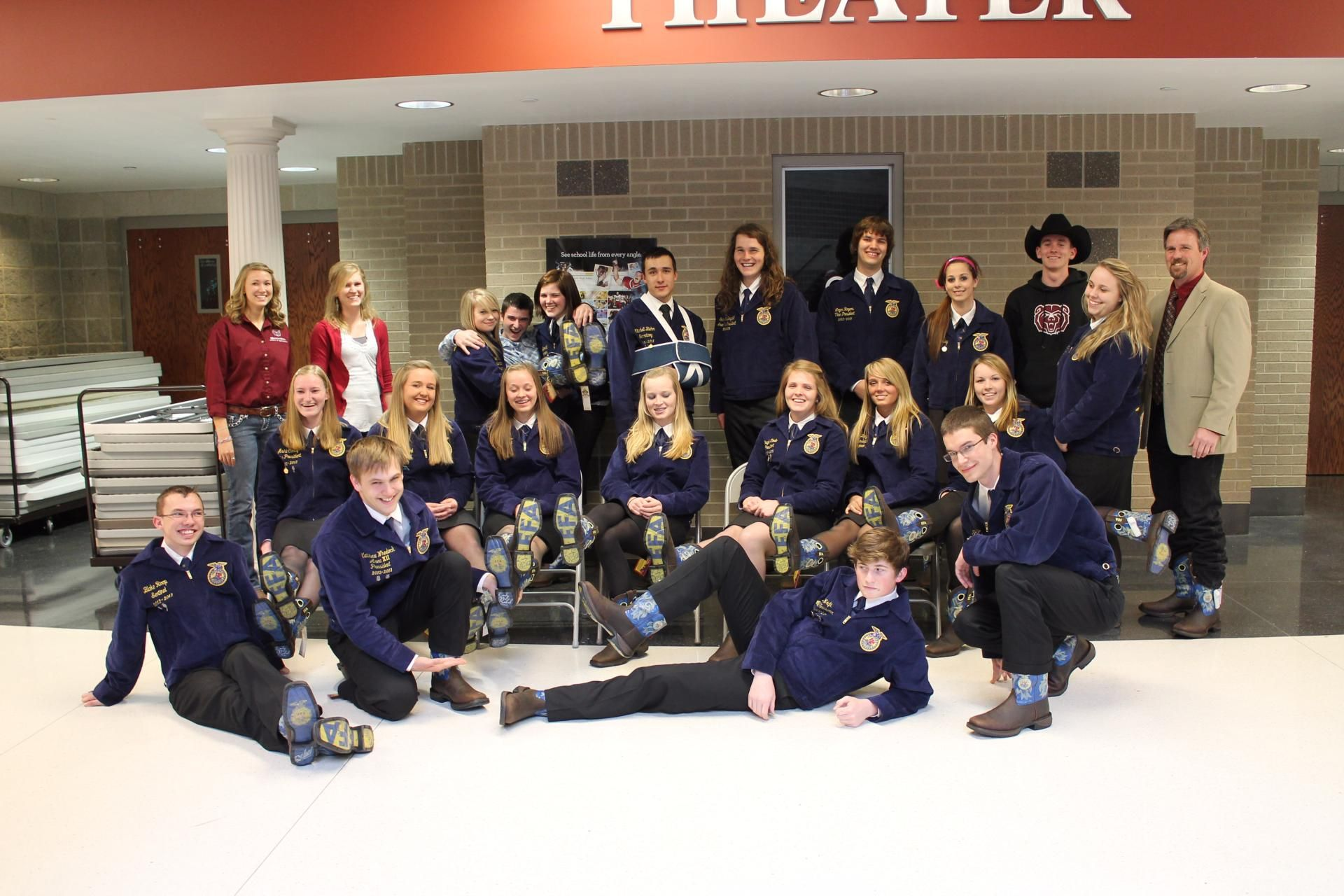 Ffa historic moments ffa student created in this moment