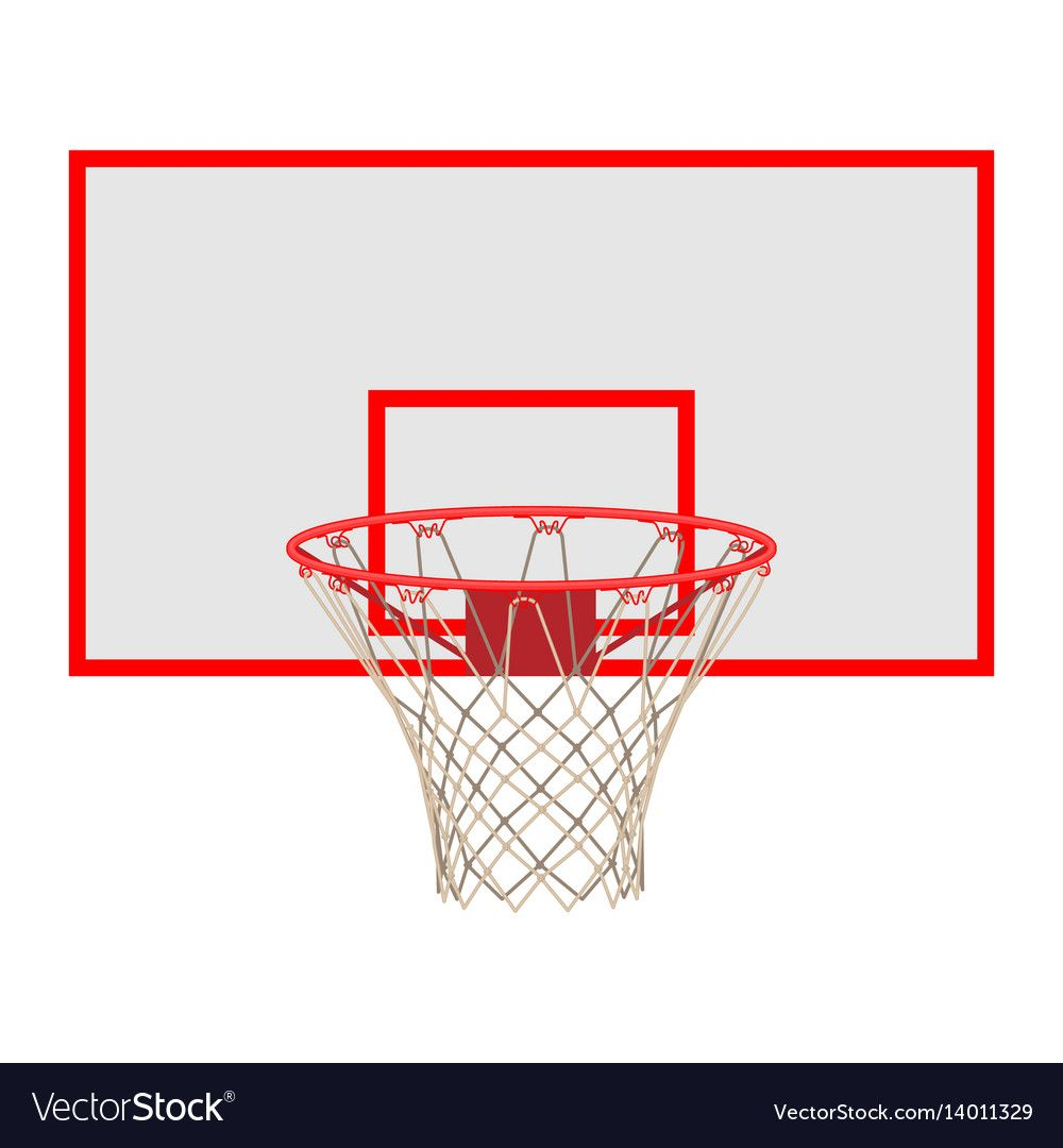 Basketball Hoop On Backboard Isolated On White Background Net With Round Circle Equipment Of Sport Gym Spo Basketball Hoop Phone Wallpaper Images Basketball