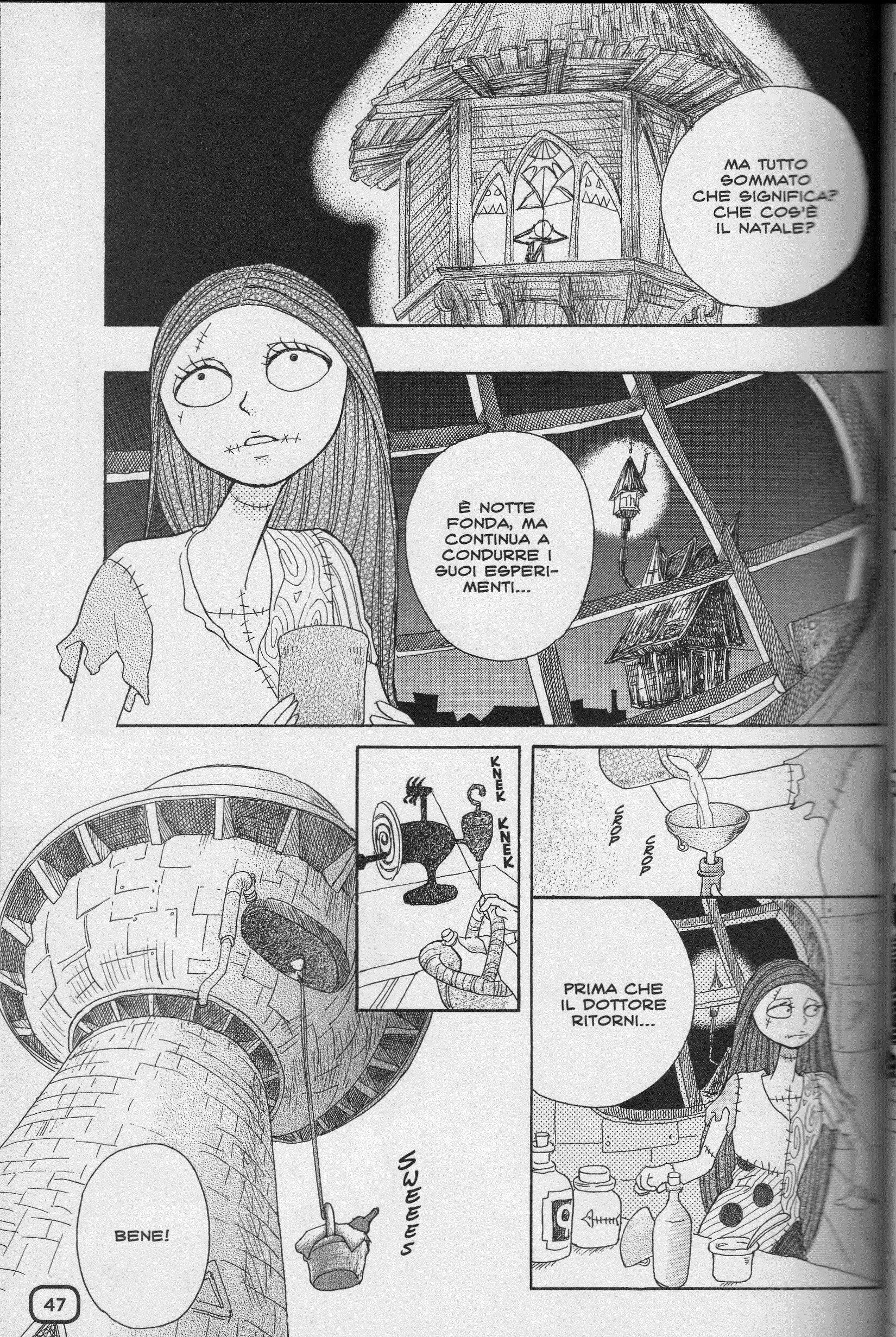 Nightmare before Christmas manga Ita_10 | Disney | Pinterest | Manga ...