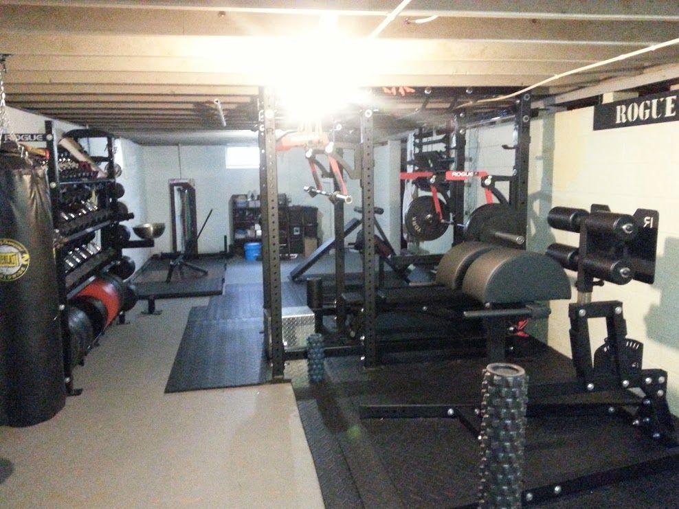 Workout Equipment Low Ceiling Home Gym Decor Home Gym Garage