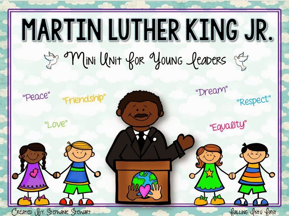 Martin Luther King Jr. lessons. I like it!!!