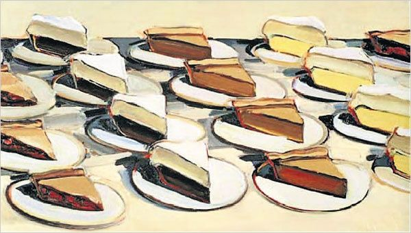 Pies, Pies, Pies by Wayne Thiebaud - http://pinnedrecipes.net