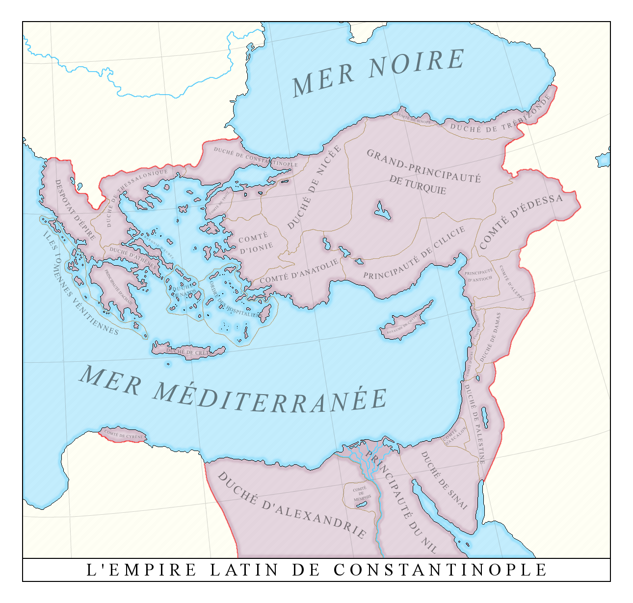 The Latin Empire Of Constantinople By Xpnck