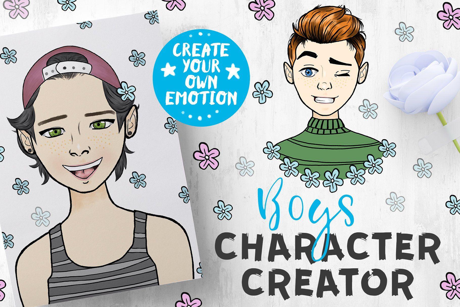 Character creator boys