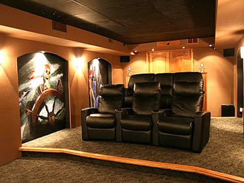 Small Media Room Movies Karaoke Home Design Ideas Pictures