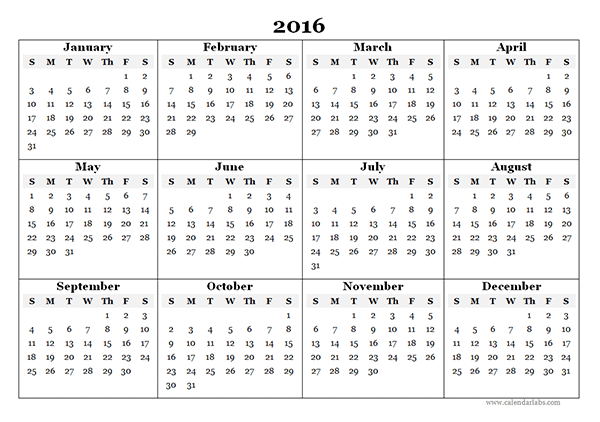 View Calendar 2016 Yearly Calendar Template 07 Printable Yearly Calendar Calendar Template Yearly Calendar Template