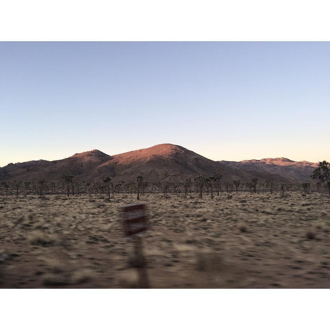 High desert dawn at speed #iphonesia by stevenperillouxphoto
