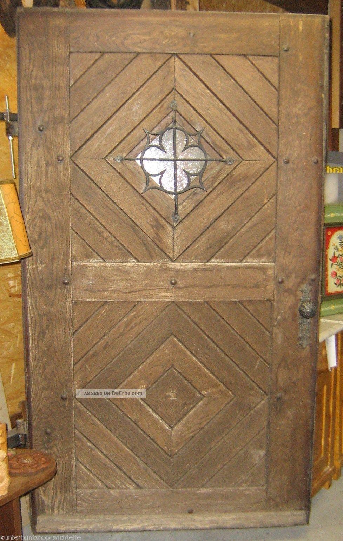 antik schwere eichen haust r haust re t r mit verglasung eingangst re the doors pinterest. Black Bedroom Furniture Sets. Home Design Ideas