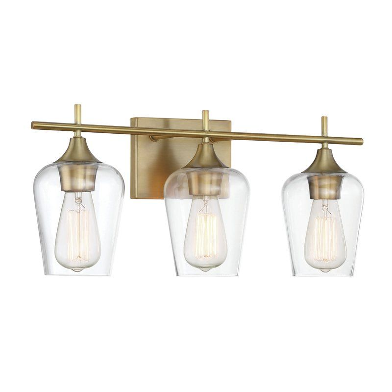 Staci 3-Light Vanity Light | Minimal, Hadley and Vanities