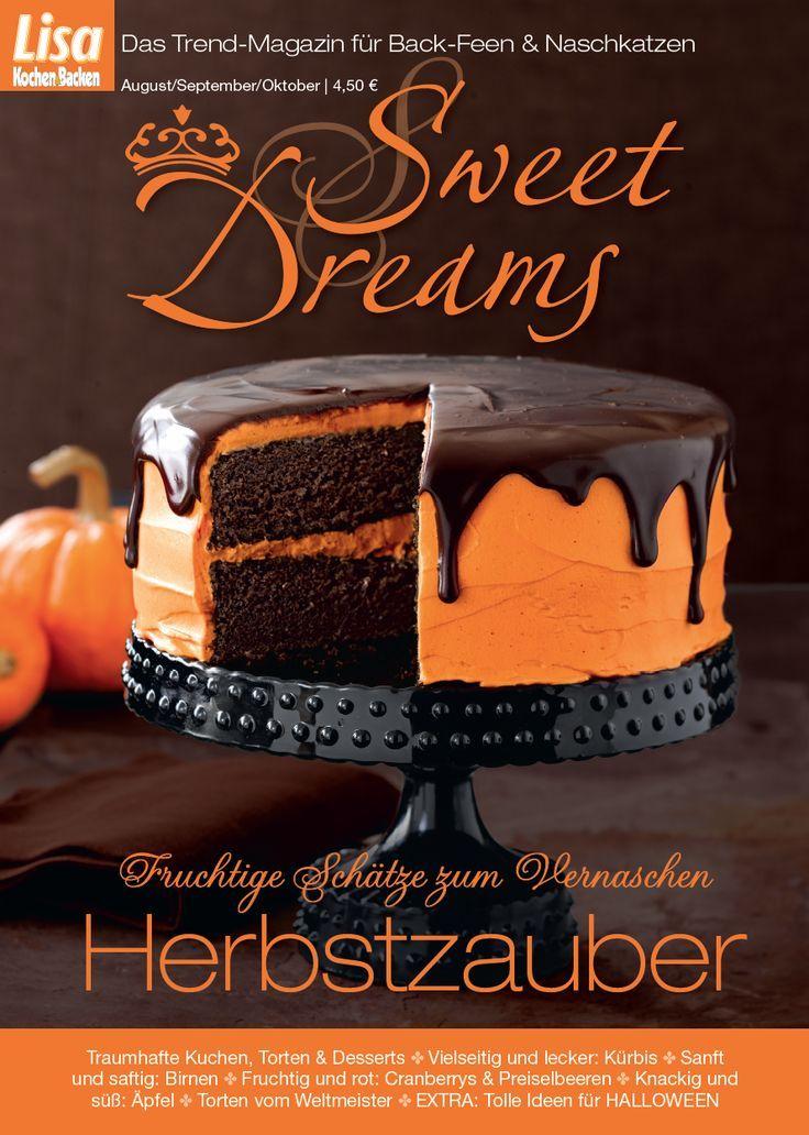 Kurbis Schoko Torte Mit Zartbitterglasur Sweet Dreams Blog Haloween