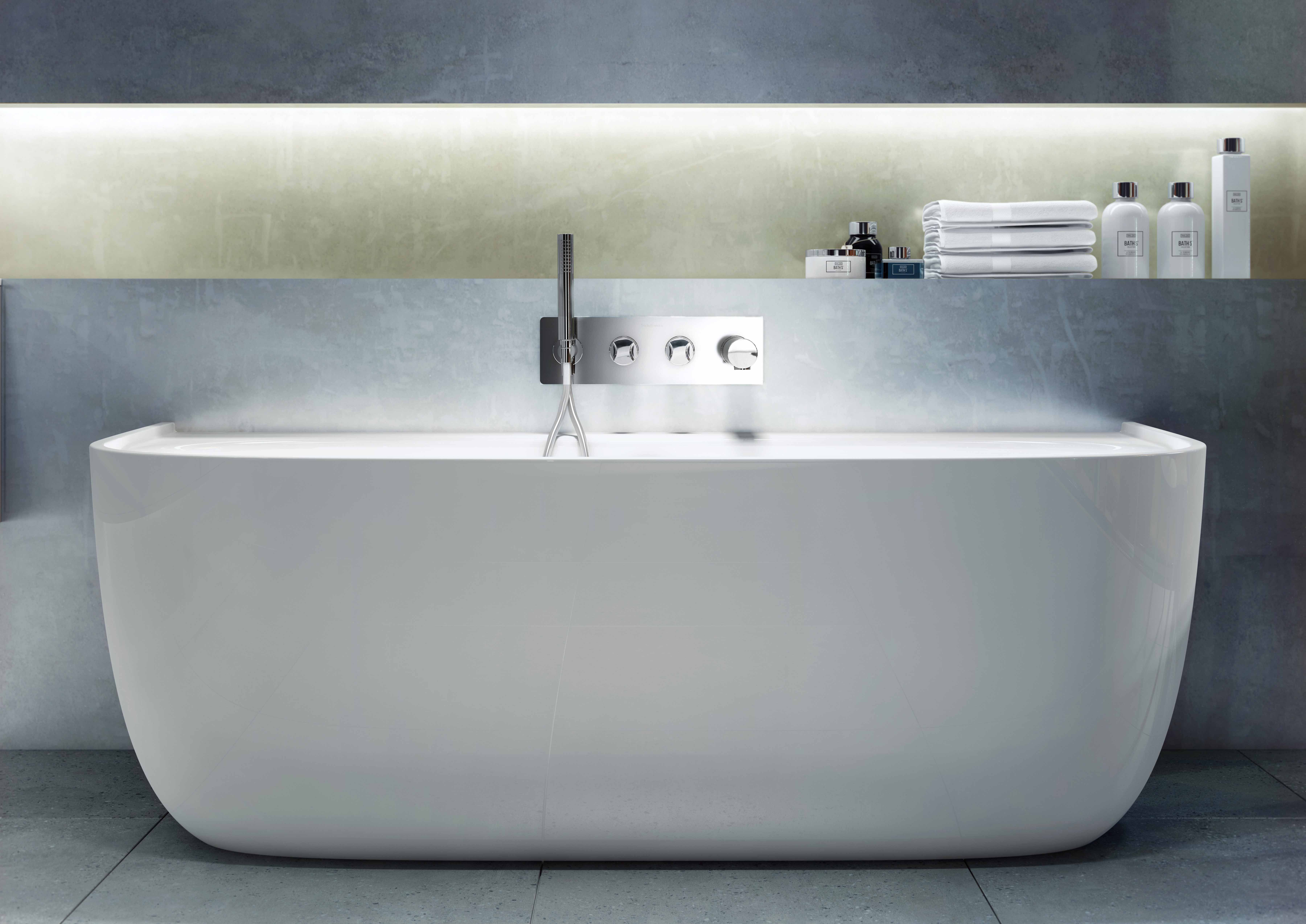 The Eldon Bath A Beautiful Back To Wall Bath In 2019