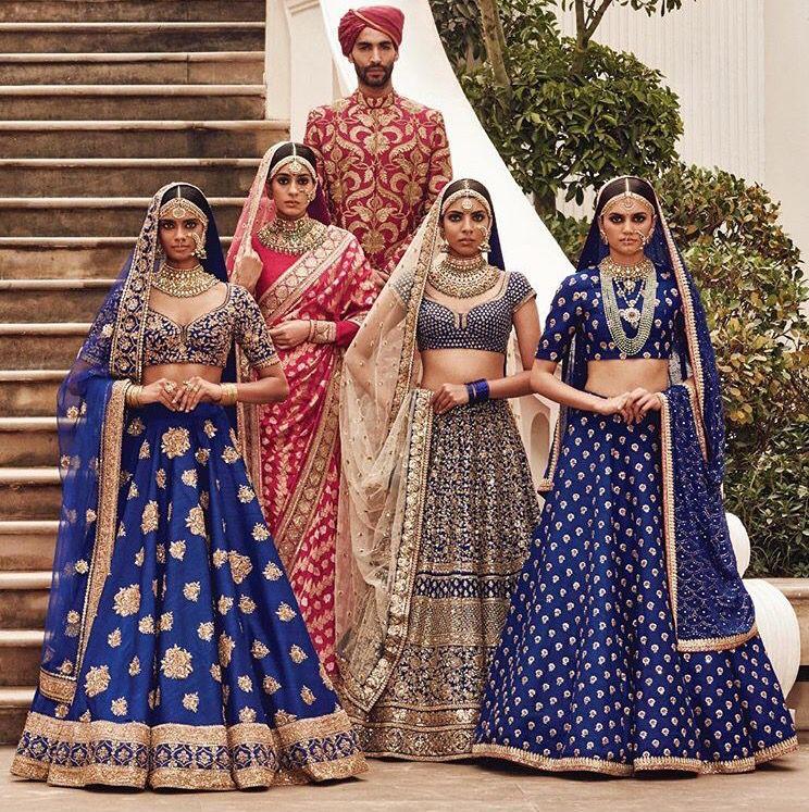 Sabyasachi Heritage Bridal Indian wedding fashion