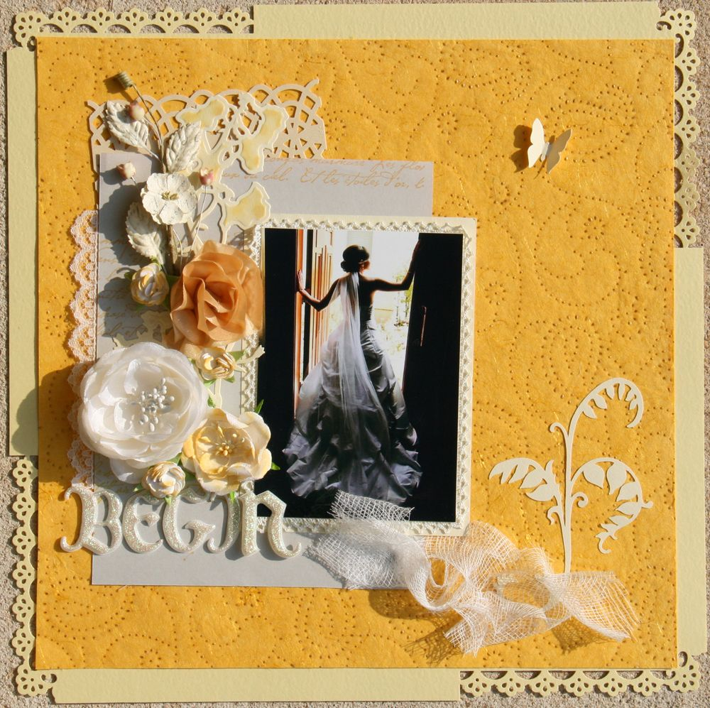 Wedding scrapbook ideas using cricut - Entered In Several Challenges Scrap Lift The Person Before You Cricut Hoarders Monochromatic Scrapbook