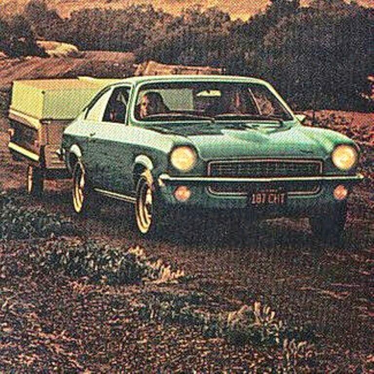 Driven 1971 Chevrolet Vega Hatchback Cpe. pulling trailer | Driver ...