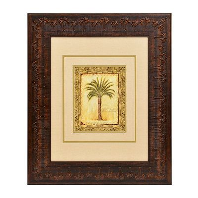 Majestic Palms II Framed Art Print | Decor | Pinterest | Wall decor ...