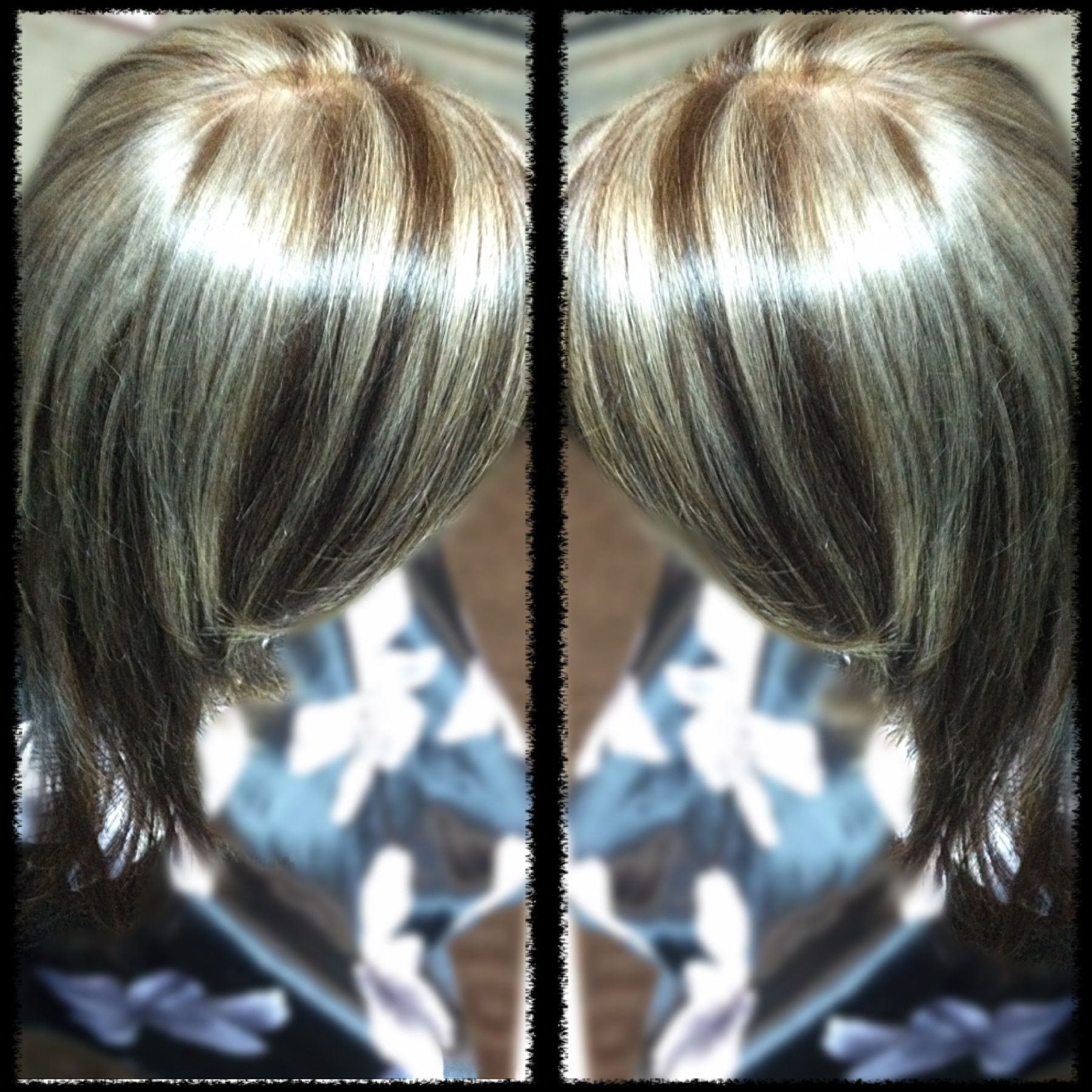 Platinum blonde chocolate brown hair color | Hair by me ...