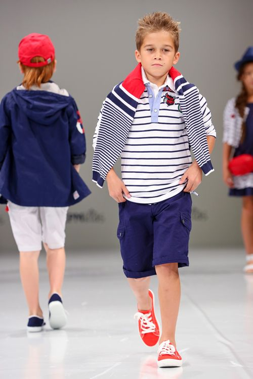 Bóboli exhibited pieces with real American spirit on the Moscow runway. Global indeed! www.boboli.es, www.lccollectionsltd.com