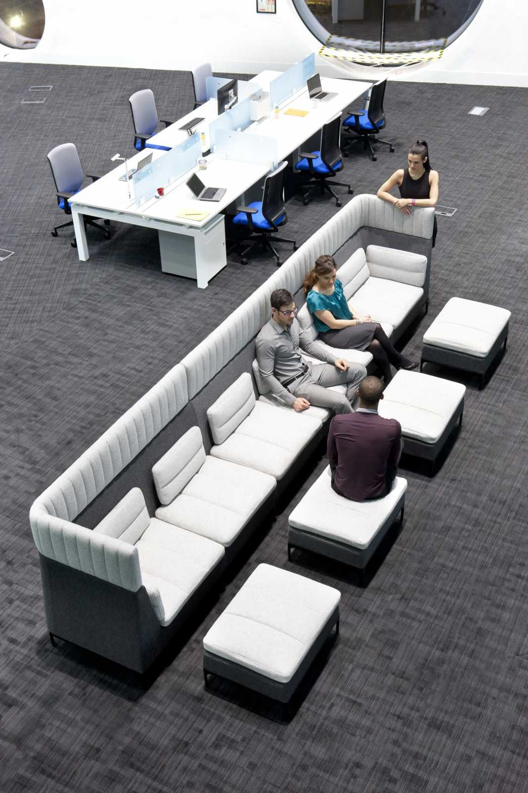 Zenith Interiors Haven Two Seat Modular Lounge Modular Lounges