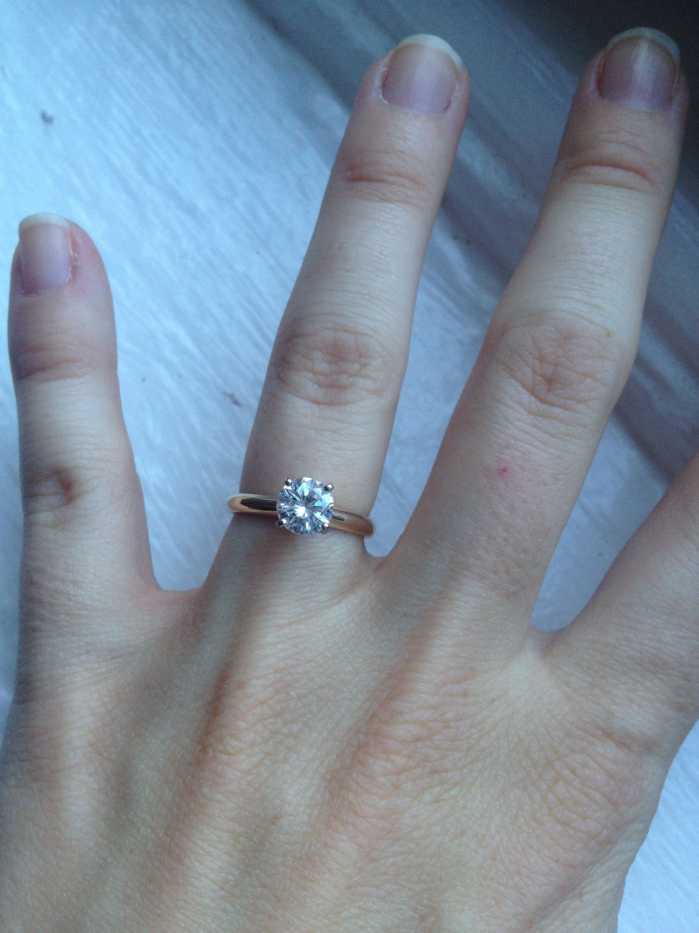Pin By Stephanie Buck On Jewels Wedding Rings Engagement Gold Solitaire Engagement Ring Engagement Rings
