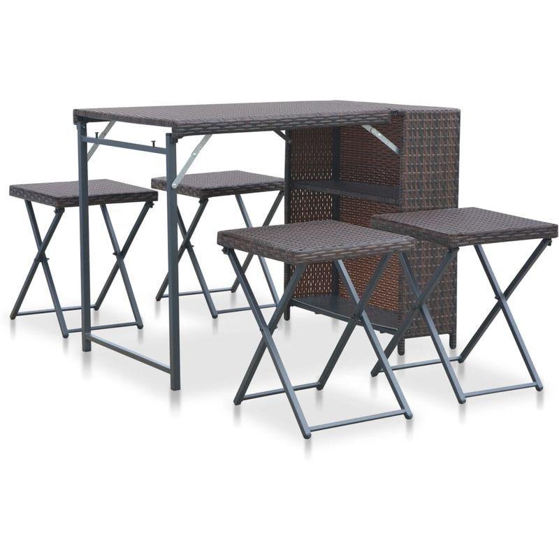 Salon de jardin | Rattan garden furniture sets, Rattan ...