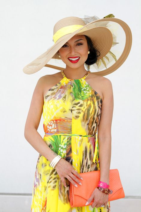 Style Network star Jeannie Mai - 2012 Kentucky Derby Style - Hats and Fashion at the Kentucky Derby