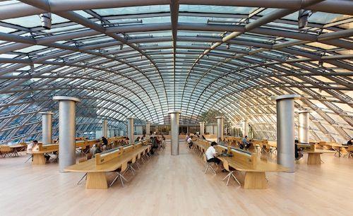 University Of Chicago Joe Rika Mansueto Library USA