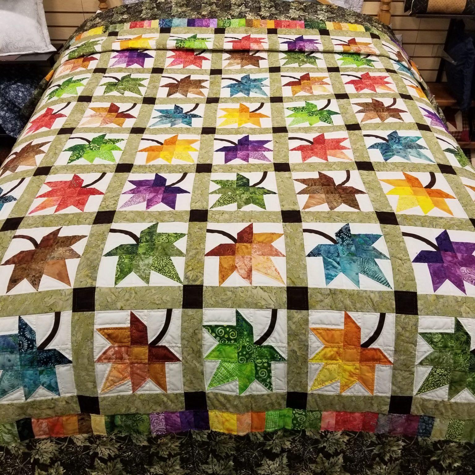 Purple splendor quilt
