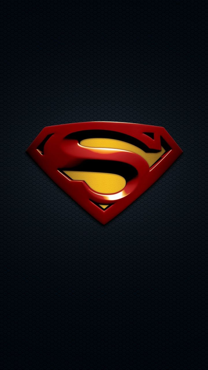 Superman logo minimal wallpaper wallpapers