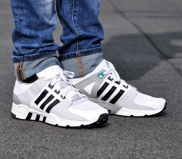 adidas EQT Running Support - Neo White / Black - Clear Grey