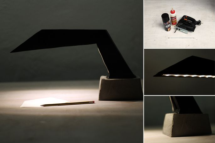 The Dark Knight Diy Desk Lamp Make Any Shape With Plywood