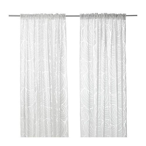 vivan curtains 1 pair gray 57x98 quot ikea casa serene in. Black Bedroom Furniture Sets. Home Design Ideas